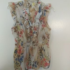 Forever 21 size medium flowy top